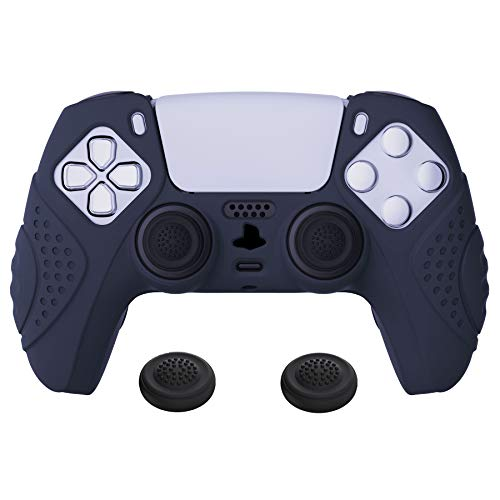 funda anti deslizante silcona control playstation 5 azul osc