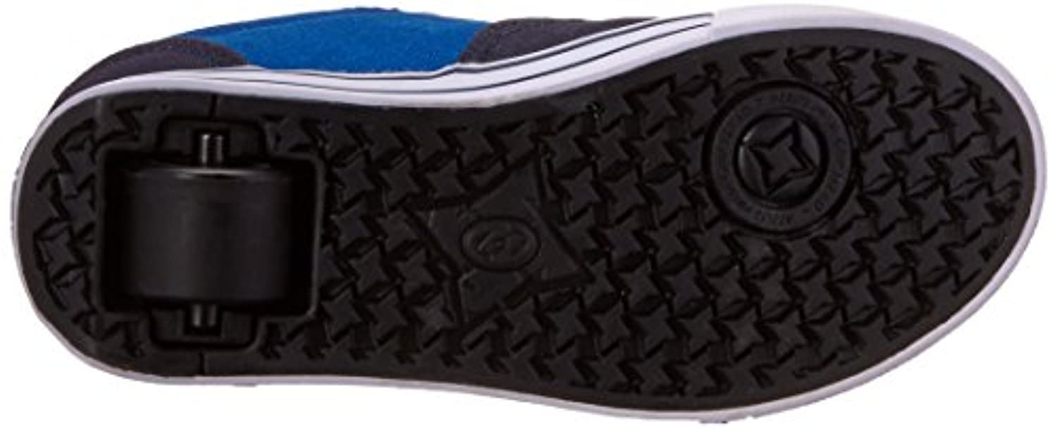 New Boys/Childrens Navy Heelys Skate Shoes Low Profile Wheels To Heel - Navy/Royal - UK SIZE 1