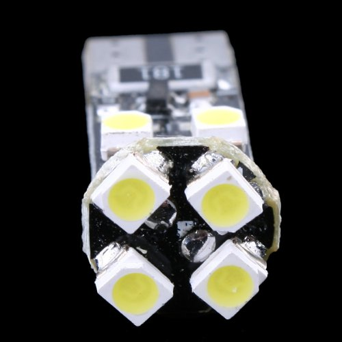 Kingzer 2x T10 8 SMD LED White Car Side Wedge Light Lamp Bulbs 194 927 161 W5W 1210 12V from KINGZER