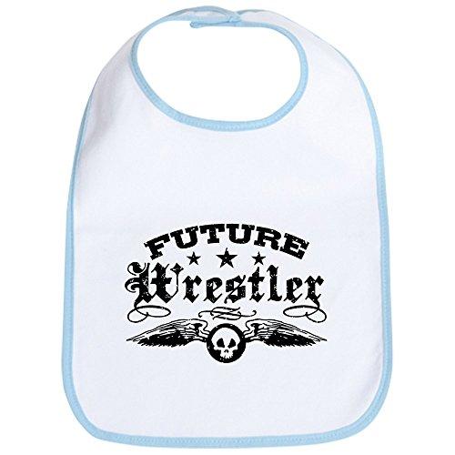 CafePress Future Wrestler Bib Cute Cloth Baby Bib, Toddler Bib