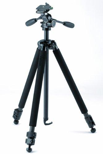 (Velbon GEO E535D Carbon Fiber Tripod with PHD-53D Pan/Tilt Head, 6.0' Maximum Height, 3-Way Pan/Tilt Head, Individual Leg Spread)