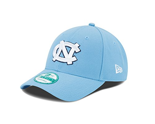 Ncaa New Era - New Era NCAA North Carolina Tar Heels 9FORTY Adjustable Cap, One Size, Carolina Blue