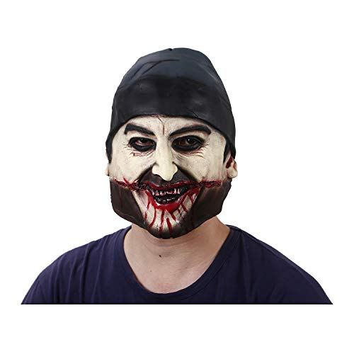 (New Scary Latex Mask Realistic Horror Skull Rubber Full Face Pirate Masks Party Mask Terrorist Halloween zombie)