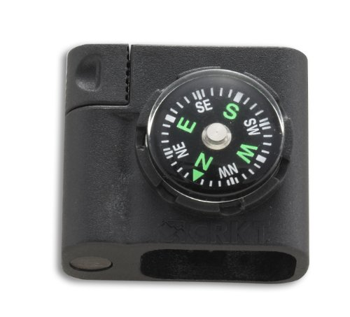 Columbia River Knife and Tool (CRKT) 9701 Survival Bracelet Accessory Compass and Firestarter by Columbia River Knife & Tool