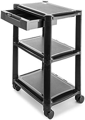 AUNA P-Stand Mesa con Ruedas para Impresora - Mueble para Oficina ...