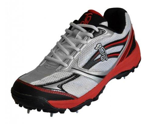 Kookaburra Kids 2013 Pro 400 Cricket Dual Spike Shoe Red / Black