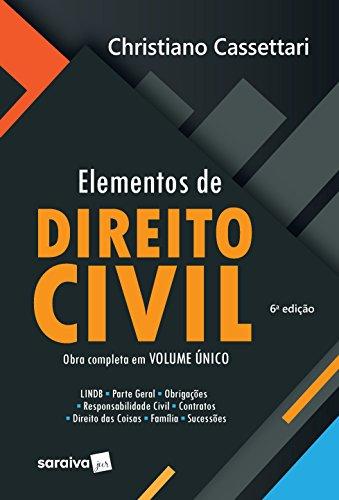 Elementos de Direito Civil Obra Completa. - Volume Único