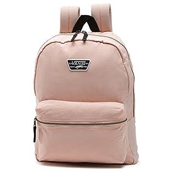 vans mochila negra y rosa