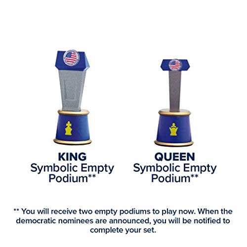 As Seen On TV Collector's Edition 2020 Battle for The White House Chess Set Board Game by BulbHead - Chess Pieces Look Just Like Politicians & Patriotic Chess Board Democrats Vs. Republicans