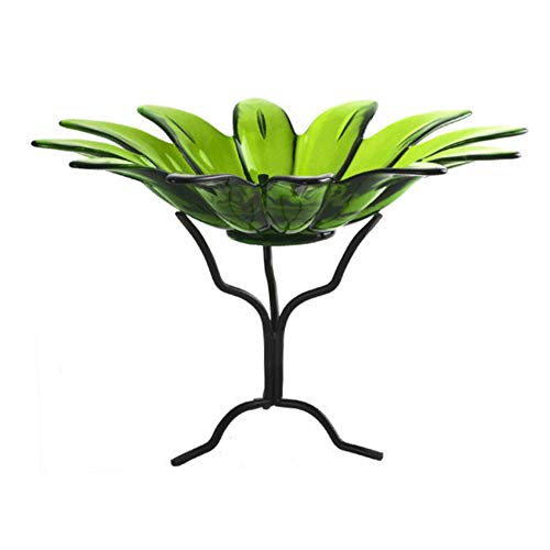 - Decorative Glass Serving Bowls, Candy and Dessert Dish G191VM Lime Green Large 12 in. Daisy Fruit & Ice Cream Bowls