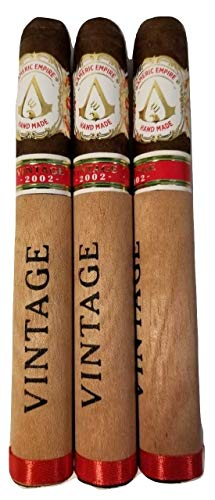 Acid #(Cigars to Smoke and Buy Prime Americ Empire on Sale. Pure Cigar to Smoke. Tabacos para Fumar. Real Smoking Cigars Better Than Flavored Cigars)#. Pack of 3 Hand Made in Honduras (Vintage 2002)