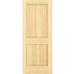 Lower Priced Items to Consider  sc 1 st  Amazon.com & Amazon.com: 2-Panel Door Interior Door Slab Solid Pine Square ... pezcame.com