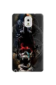 Terrifying skull beauttiful graffiti and high qulity of samsung note3 phone cases