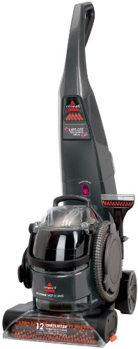 BISSELL Lift-Off Deluxe Pet Upright Deep Cleaner, Titanium, 73H5