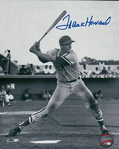 Signed Frank Howard Photo - 8X10 Vintage Black & White COA - Autographed MLB Photos