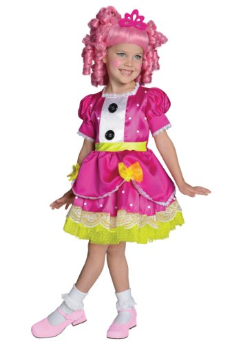 Big Girls' Lalaloopsy Jewel Sparkles Costume, Toddler US Size 2-4 -