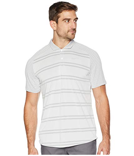 - Nike Men's Zonal Cooling Stripe Raglan Golf Polo (XL, White)