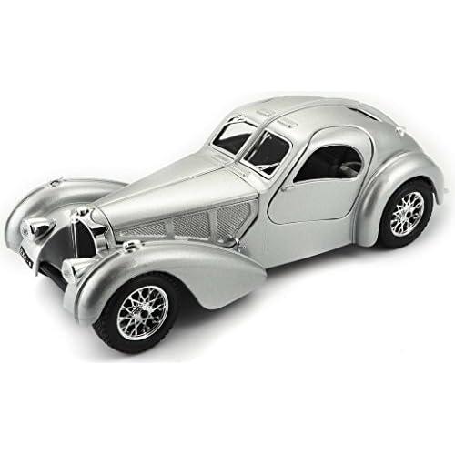 De Juguete 124Color Bburago AtlanticEscala Coche Bugatti WE2YH9ID
