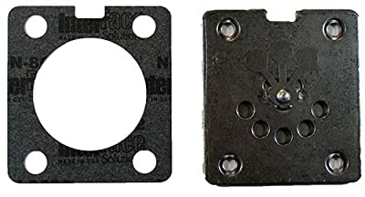 Porter Cable Air Compressor Replacement (2 Pack) Valve Plate w/Lower Gasket # N017592SV-2pk by PORTER-CABLE