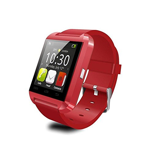 Smartwatch Bluetooth CEStore Smartphone Stopwatch Red product image