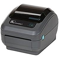 Zebra GK420t Thermal Transfer Printer - Monochrome - Desktop - Label Print - 4.09 Print Width - 5 in/s Mono - 203 dpi - 8 MB - USB - Ethernet - 4.25 Label Width - 39 (Certified Refurbished)