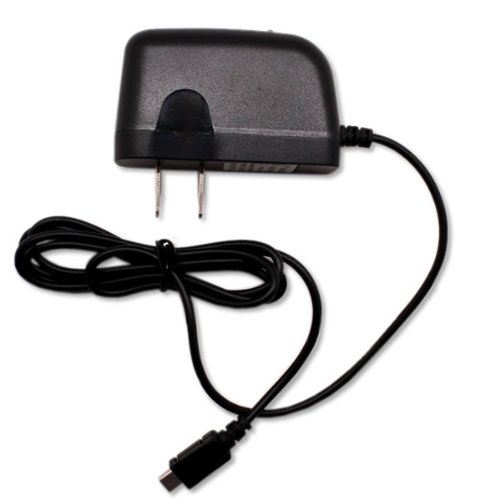 CoverON® Micro USB Home Wall Charger for Plantronic Voyager 815 / 835 / 855 / Pro / Pro HD / Pro+ - Black