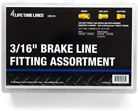 Brake Line Fitting Assortment Metric