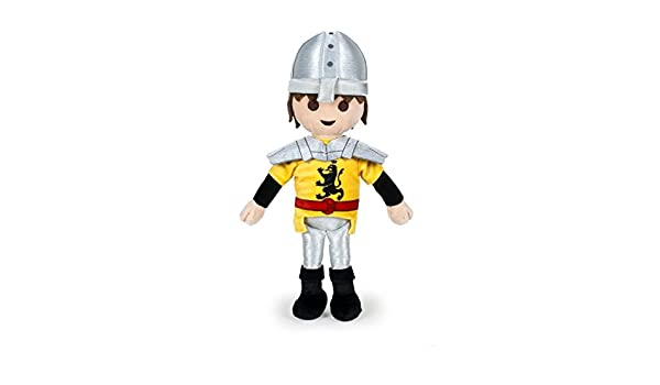 Amazon.com: PLAYMOBIL - Plush toy Chevalier 30cm - Quality super soft by PMB: Toys & Games