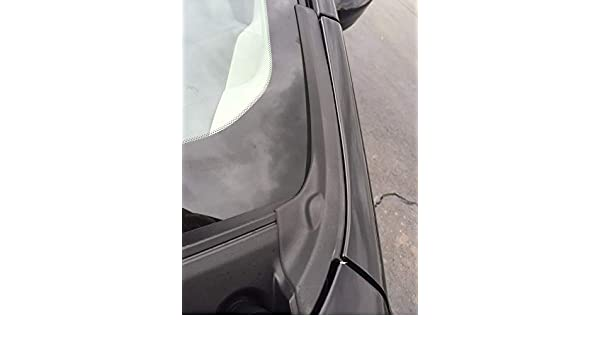 RIGHT SIDE COWL EXTENTION TRIM NEW OEM 2014-2018 NISSAN VERSA NOTE PASSENGER