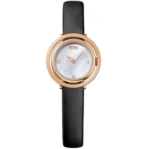 Hugo Boss Damen-Armbanduhr Analog Quarz Textil 1502276