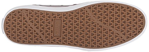 Etnies Barge Ls, Mens Technical Skateboarding Shoes Black/Dark Grey/Silver