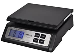Accuteck Heavy Duty Postal Shipping Scale with Extra Large Display, Batteries and AC Adapter (A-ST65LB)