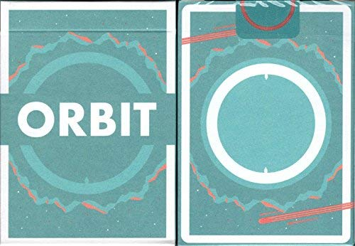 Orbit v5 Playing Cards Poker Size Deck USPCC Custom Limited Edition by Orbit