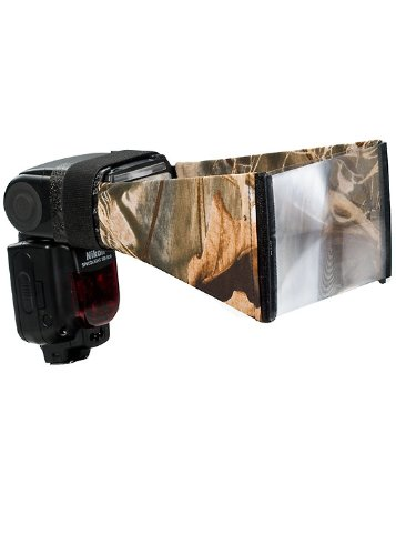 LensCoat Better Beamer Cover camouflage neoprene camera lens flash protection (Realtree Max4 HD)