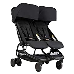 An incredibly lightweight side-by-side that delivers the perfect solution for city dwelling parents when storage is at a premium and pushing two children needs to be effortless. Featuring an ultra compact fold and the ability to offer newborn...