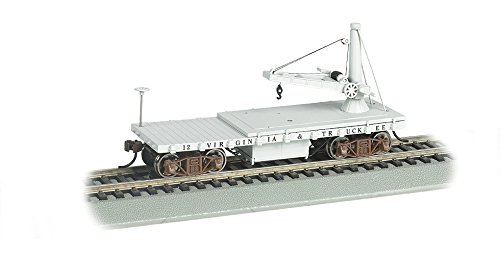 Bachmann Industries Old Time Maintenance of Way Derrick Virginia & Truckee Freight ()