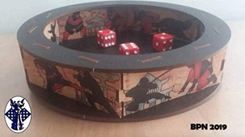 Amazon.com: Blue Panther Ninja Dice Tray: Toys & Games