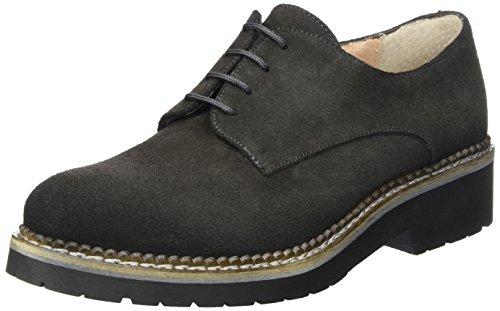 016 881 Mujer Zapatos Love Cordones 798 Brogue Gris de Grey para Vitti Sq1xAH6x
