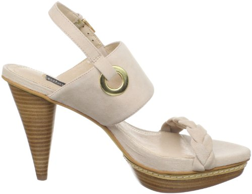 Pilar Abril Bertina 08769 - Sandalias de vestir de cuero para mujer Rosa
