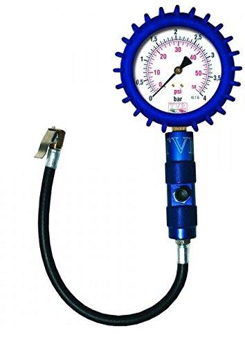 Manómetro fabricado en Italia que verifica presión de los neumáticos