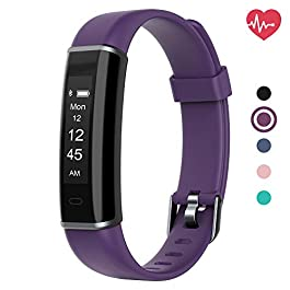 Delvfire Spark Slim Fitness Tracker with Heart Rate Monitor,...