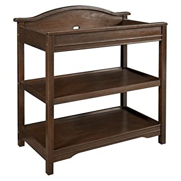 Eddie Bauer® Langley Open Changer   Walnut   Kids Furniture   Changing  Table   Shelves