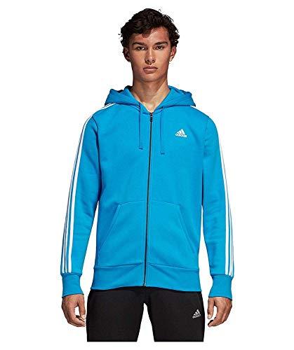 À Sport De Sweat Bleu Fz shirt Adidas blanc azubri Capuche Ess B 3s Homme q0B8wY