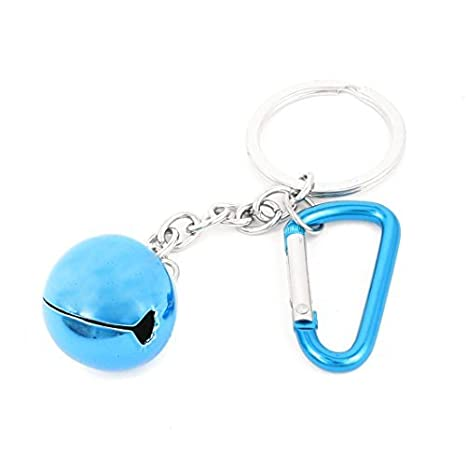 Amazon.com : eDealMax Campana Azul pendiente de Silver ...
