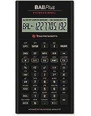 Texas Instruments BA II Plus Professional Financial Calculator, Black