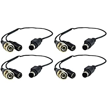 Amazon Com 4 Pack Nippon America Din To Bnc Cable