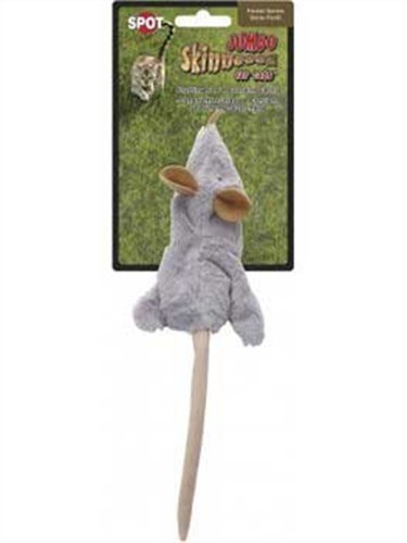 Ethical Skinneeez Mouse 12-Inch Cat Toy, My Pet Supplies