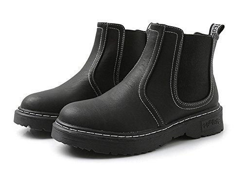 Stivaletti stivali black con irregolare Martin 6Awr6qO