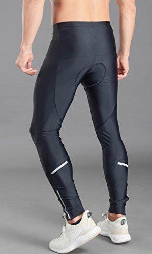 Przewalski Men's Padded Cycling Tights, Bike Pants, Quick-Dry & Windproof