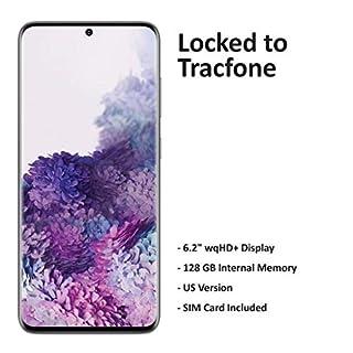 Tracfone Carrier-Locked Samsung Galaxy S20 5G Prepaid Smartphone - Cosmic Gray - 128GB - Sim Card Included – CDMA/GSM